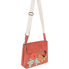 Parfois - Peach 'Spring' cross bag