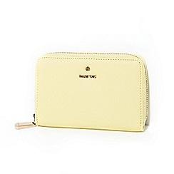 Parfois - Yellow basic wallet