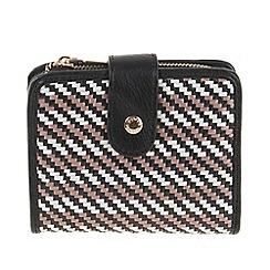 Parfois - Black All in straw wallet