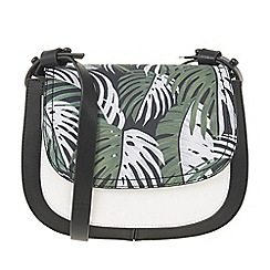 Parfois - Tropical print cross bag