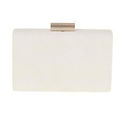 Parfois - Light cream Curvy clutch