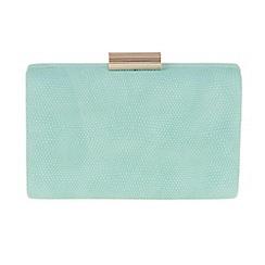 Parfois - Turquoise Curvy clutch