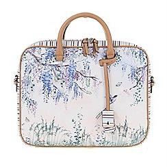 Parfois - Blue Garden of eden briefcase