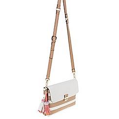 Parfois - Beige Frida cross bag
