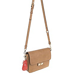 Parfois - Beige Pina colada cross bag