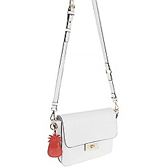 Parfois - White Pina colada cross bag