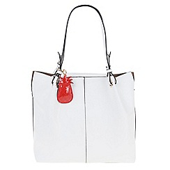 Parfois - White Pina colada shopper