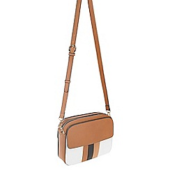 Parfois - White Duchamp cross bag