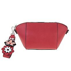 Parfois - Red Pasada cosmetic purse