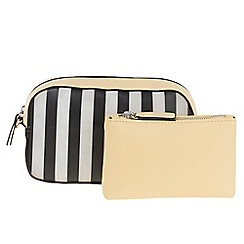 Parfois - Yellow Wallet cosmetic purse plastico