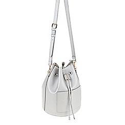 Parfois - Silver Dream bucket cross bag