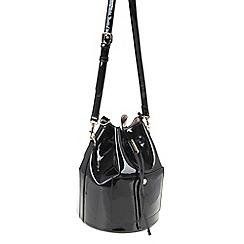 Parfois - Black Dream bucket cross bag