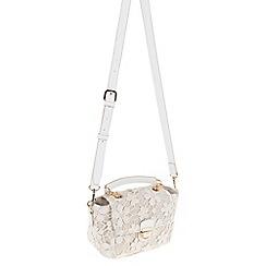 Parfois - Light Cream Dream fantasy cross bag