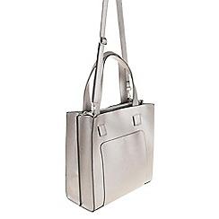 Parfois - Silver 'Miss White' handbag