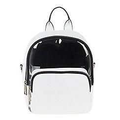 Parfois - White Pasada backpack
