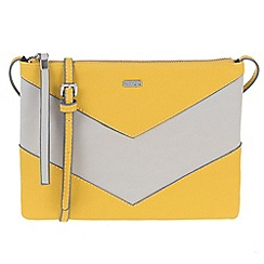 Parfois - Yellow Thunder papaya cross bag