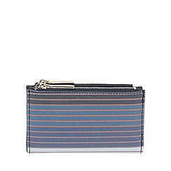 Parfois - Navy All In Stripes Wallet