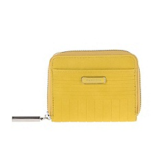 Parfois - Yellow Wallet card holder pvc fantasy lime