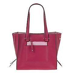 Parfois - Bright Pink Ramadan plain shopper