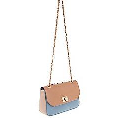 Parfois - Blue Ramadan plain cross bag