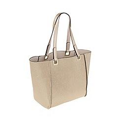 Parfois - Gold 'Tetris' shopper bag