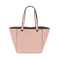 Parfois - Pink 'Tetris' shopper bag