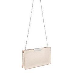 Parfois - Pink Gold Bar Cross Bag