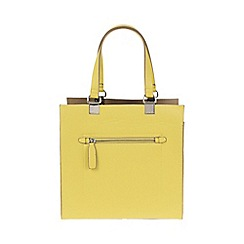 Parfois - Lime Green 'Beginning Basic' shopper bag