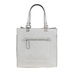 Parfois - Silver 'Beginning Basic' shopper bag