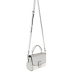 Parfois - Silver 'Beginning Basic' cross bag