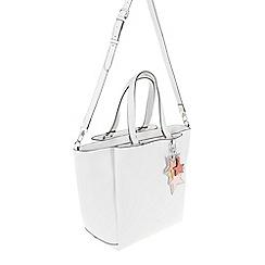 Parfois - White 'Beginning' briefcase