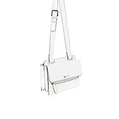 Parfois - White 'Beginning' cross bag