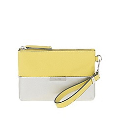 Parfois - Silver 'Beginning Basic' cosmetic purse