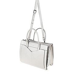 Parfois - Silver 'Flora' briefcase