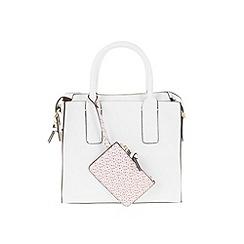 Parfois - White 'Montana' shopper bag