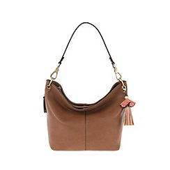 Parfois - Camel 'Magritte' handbag