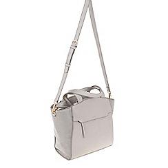 Parfois - Light Grey 'Autumn' shopper