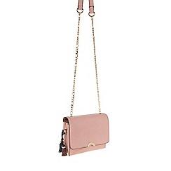 Parfois - Pink 'Royal flower' cross bag