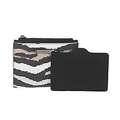 Parfois - Beige 'Mondrian' purse