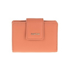 Parfois - Peach 'Polka' document wallet