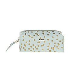 Parfois - Green 'Polka' cosmetic purse