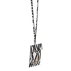 Parfois - Beige 'Mondrian' phone case