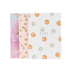 Parfois - Pale Peach stationary notebook