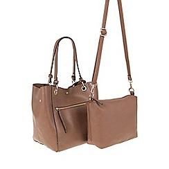 Parfois - Camel Brown 'Olguinha' shopper bag