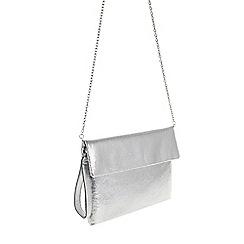 Parfois - Cracked metal clutch