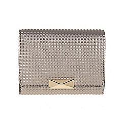 Parfois - Silver 'Tetris' wallet