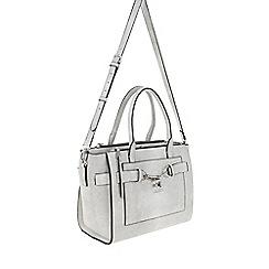 Parfois - White 'Savage' beauty briefcase