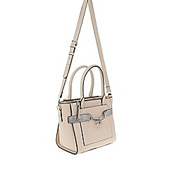 Parfois - Beige 'Savage' beauty briefcase