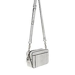 Parfois - White 'Savage' beauty cross bag