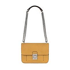 Parfois - Mustard 'Savage' beauty cross bag